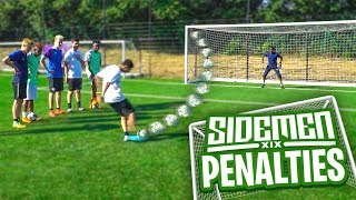 SIDEMEN PENALTY SHOOTOUT!!!
