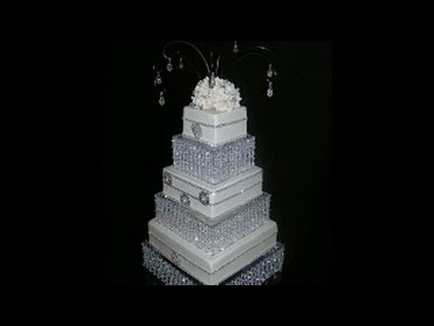 diy wedding cake platform diy wedding cake stand cake stand chandelier 13636