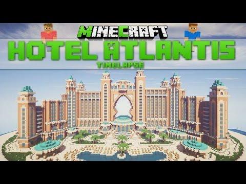 Minecraft Timelapse – Hotel Atlantis (Dubai) [Download]