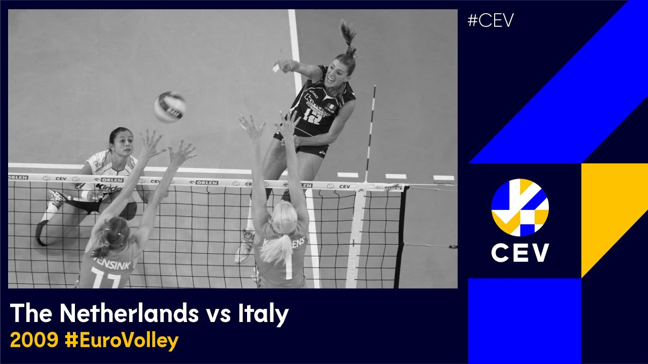 Italy vs The Netherlands FULL MATCH -2009 European Championships Women Finals