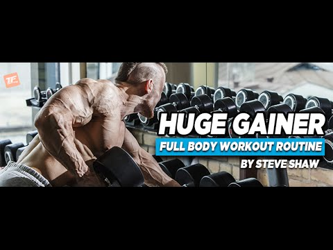 NEW: Huge Gainer Full Body Workout Routine Build Muscle