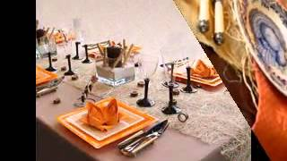 Thanksgiving Dinner Table Decor Ideas