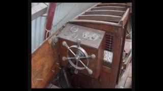 "Classic Wooden Boat Cg Pettersson ""diva"" 1930"