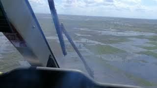 Farmlands in Mozambique flooded