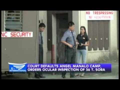 QC sheriff to inspect disputed INC property at No. 36 Tandang Sora QC