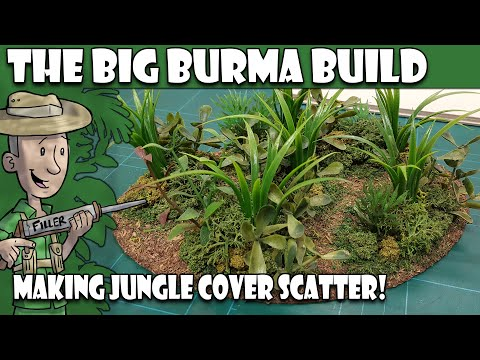 BBB - Making Jungle Scatter Terrain Pt3 (Basic Ground Foliage)
