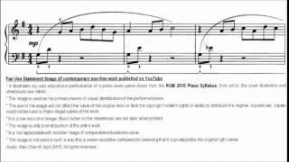 RCM Piano 2015 Grade 4 List C No.6 Alexander Reflections Sheet Music