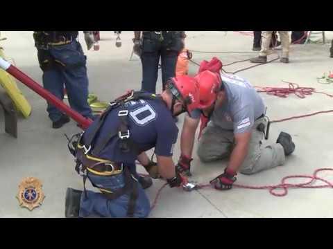 Grain Bin Rescue Operations - McLean, Illinois