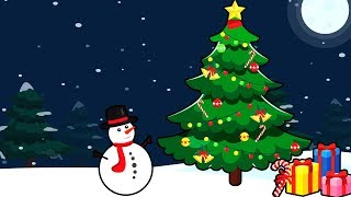 Новогодняя песенка - Колокольчики. Праздничные детские песни. Мультики для детей