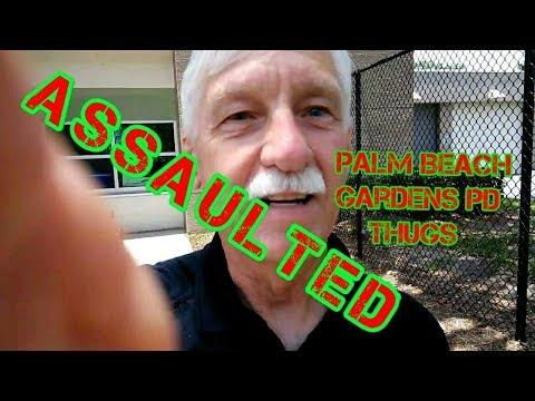 Palm Beach Gardens PD ASSAULTED First Amendment Audit