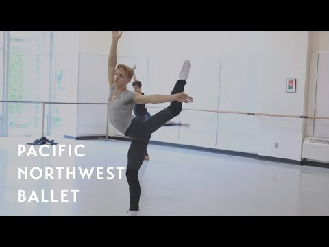 Opus 19/The Dreamer rehearsal - ft. Dylan Wald (Pacific Northwest Ballet)