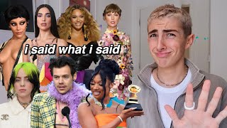Reacting To Grammys 2021 Outfits (next year stay home)