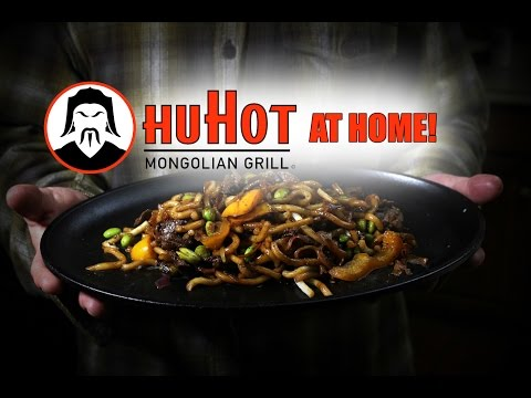 HuHot Mongolian Grill Stir Fry On The Blackstone Griddle