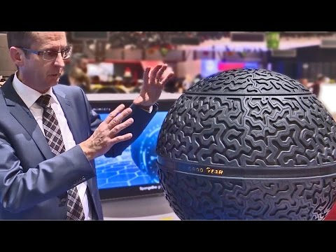 Thumbnail: The Future Tire by Goodyear - It's a Sphere!