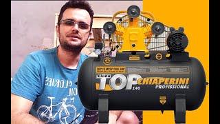 Unboxing Compressor Top 15 MP3V Chiaperini 3HP