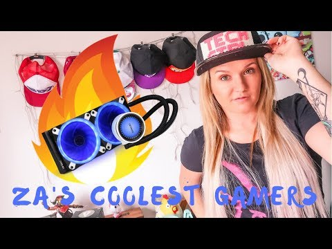 South Africa's coolest gamers?