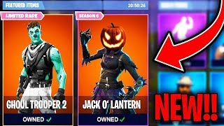 NEW HALLOWEEN SKINS COMING SOON TO FORTNITE BATTLE ROYALE!!