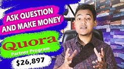 How To Make Money Online From Quora Partner Program