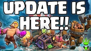 UPDATE IS HERE!! - MASSIVE BOAT UPDATE COVERAGE - Clash of Clans - NEW VERSUS MODE AND MORE!