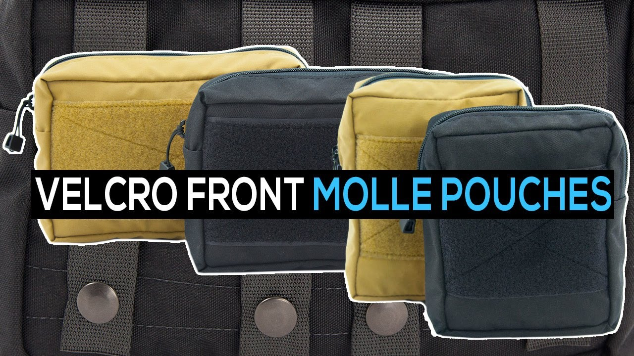 Velcro Front General Purpose Pouches Molle