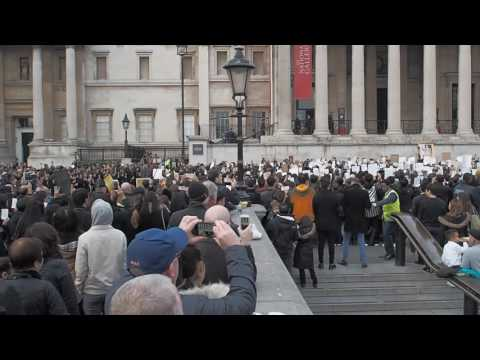 Thai Royal Anthem @ Trafalgar Square