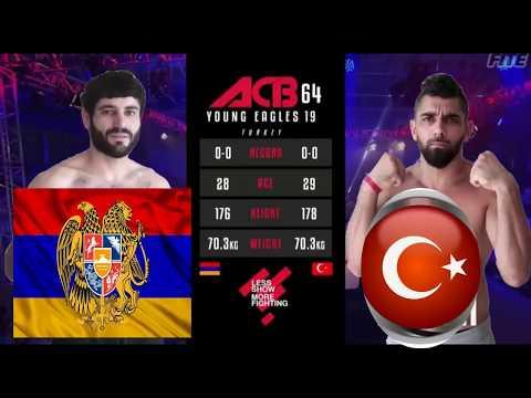 UFS Armenia Vs Bich Aze  (бой без правил) Армения и турк #Story 4