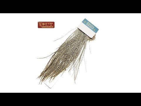 Whiting High & Dry Rooster Saddle Fly Tying Feathers