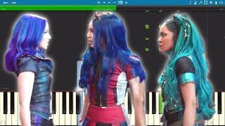 Descendants 3 - Night Falls - Piano Tutorial Video
