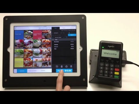VIDEO: EMV Transactions - Ingenico iCMP – talech Point of Sale