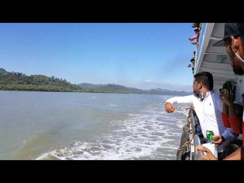 Beautiful Bangladesh Naf River view