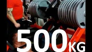 #500 kg NA NOGI W BURNEIKA SPORTS GYM 2017 Video