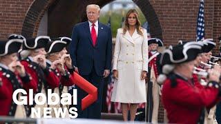 Coronavirus outbreak: Trump commemorates Memorial Day with speech honouring fallen war heroes
