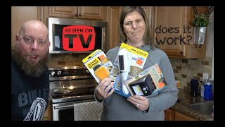 As Seen On TV - Do These Products Really Work?  Trying At Home!