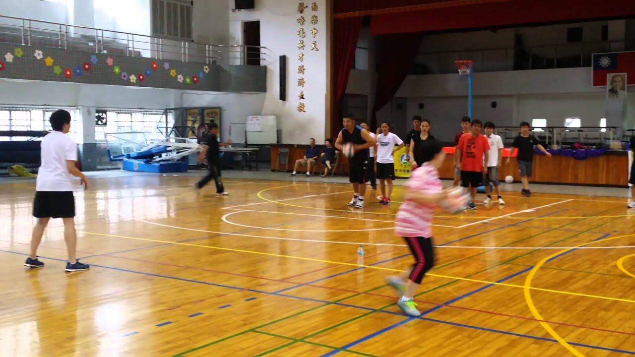 籃網球基本動作 - YouTube