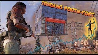 The Ultimate Multi-Purpose Trading Portable-Fort || Fallout 76