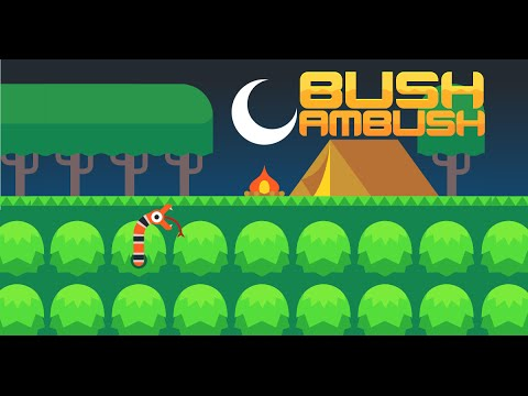 Bush Ambush - Innovative Puzzle Game for iPhone and Android