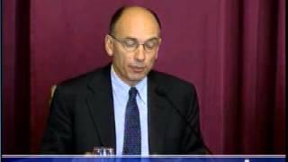 Presentazione del libro : Un economista eclettico servizio del Tg1 del 11.07.2013