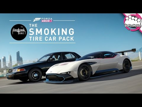 FORZA HORIZON 3 - The Smoking Tire Car Pack - Review