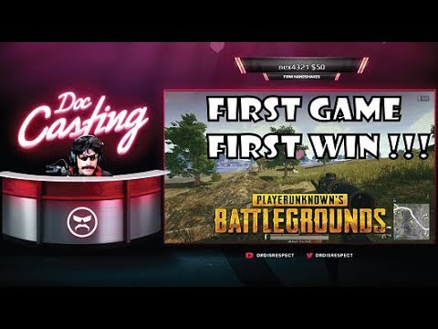 DR DISRESPECT COMEBACK ! PUBG FIRST GAME FIRST WIN AFTER 2 MONTHS