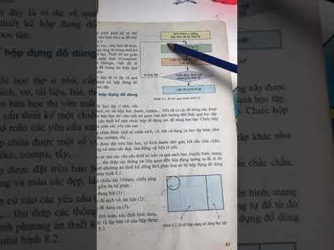 Thiết kế và bản vẽ kĩ thuật.Công nghệ 11