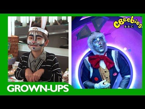 CBeebies  Grownups  Alice in Wonderland Rabbit Face Paint Tutorial