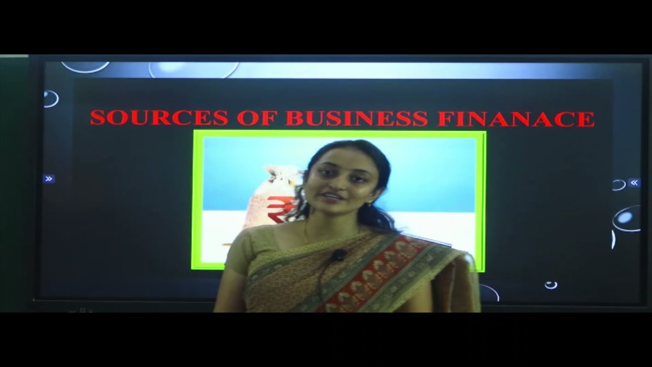 I PUC   BUSINESS STUDIES   SOURCES OF BUSINESS FINANCE - 1