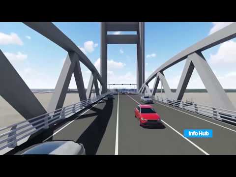 Final feasibility study report on the new Demerara Harbor Bridge river crossing.
