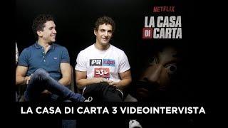 La Casa di Carta 3 - Intervista a Jaime Lorente (Denver) e Miguel Herrán (Rio)