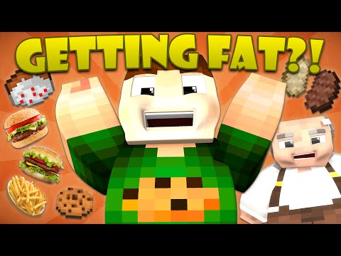 Thumbnail: If You Could Get Fat in Minecraft