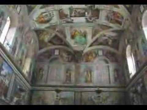 Inside the Sistine Chapel - Vatican City, Rome, Italy