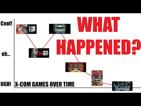 The Horrible X-COM Games Time Forgot