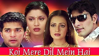 Koi Mere Dil Mein Hai Full Movie | Dia Mirza Hindi Romantic Movie | Priyanshu Chatterjee