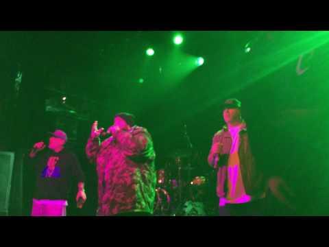 """LA COKA NOSTRA feat SICK JACKEN- """"Bloody Sunday""""/""""Fuck Tony Montana"""" - 3/16/17 Irving Plaza, NYC"""