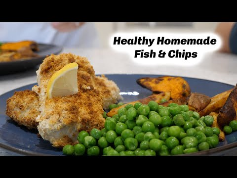 HEALTHY HOMEMADE FISH & CHIPS | KERRY WHELPDALE